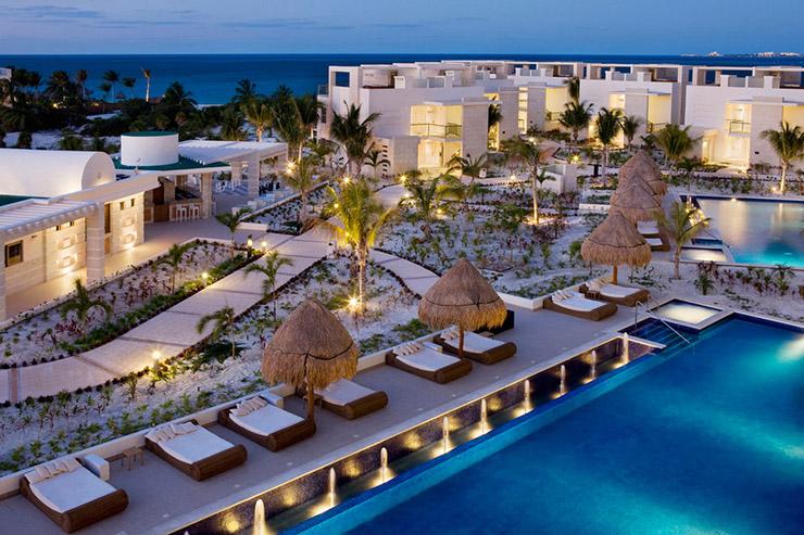 Hotel de muito luxo em Cancún